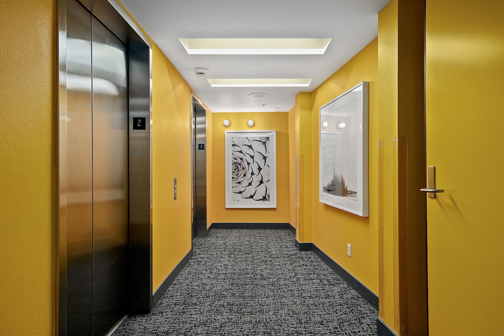 Island Flats Elevator Lobby