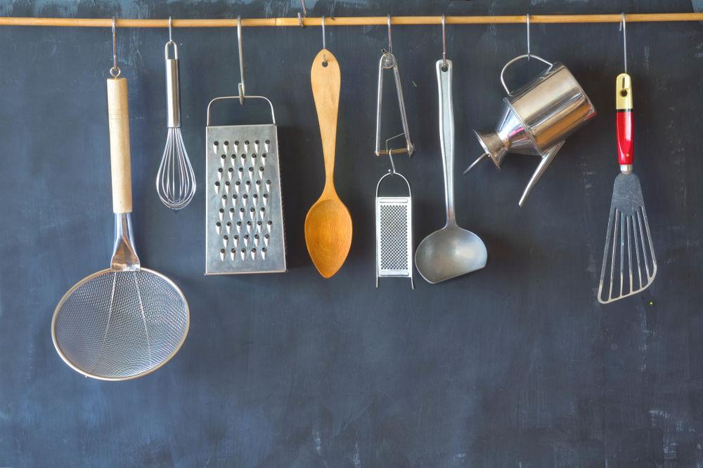 Vintage kitchen utensils,